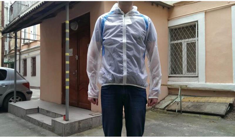 ROCKBROS Waterproof Cycling Jersey breathable Jacket Jersey Windproof Coat Clothing MTB Reflective Bike Road Raincoat RK0019 (4)