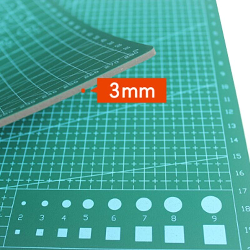 Cutting Mats Office & School Supplies Diy Cutting Mat Pad Double Side Self-healing Fabric Leather Paper Craft Non Slip Cut Board Tools Craft Art Supplies