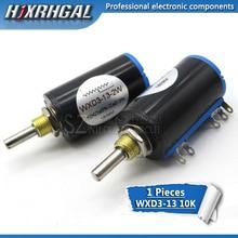 1PCS WXD3-13 WXD3-13-2W 103 Shaft Dia 10K Ohm Rotary side Multiturn Potentiometer3333