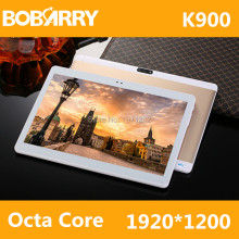 BOBARRY 10 Pulgadas Tablet PC 3G 4G Lte Octa Core 4 GB RAM 32 GB ROM Dual SIM 8.0MP del Androide 6.0 GPS 1920*1200 HD IPS Tablet PC 10″