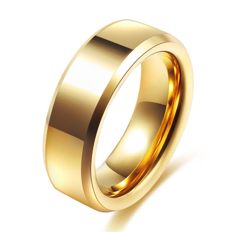 4c7309bdf4 2019 Simple Couple Wedding Rings Pair Gold Filled Couple Rings ...