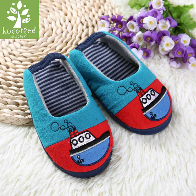 Spring Autumn High-quality Warm Soft Indoor Baby Slippers Floor Slippers For Boy Girls Kids Cartoon Shoes Children Spring Gifts