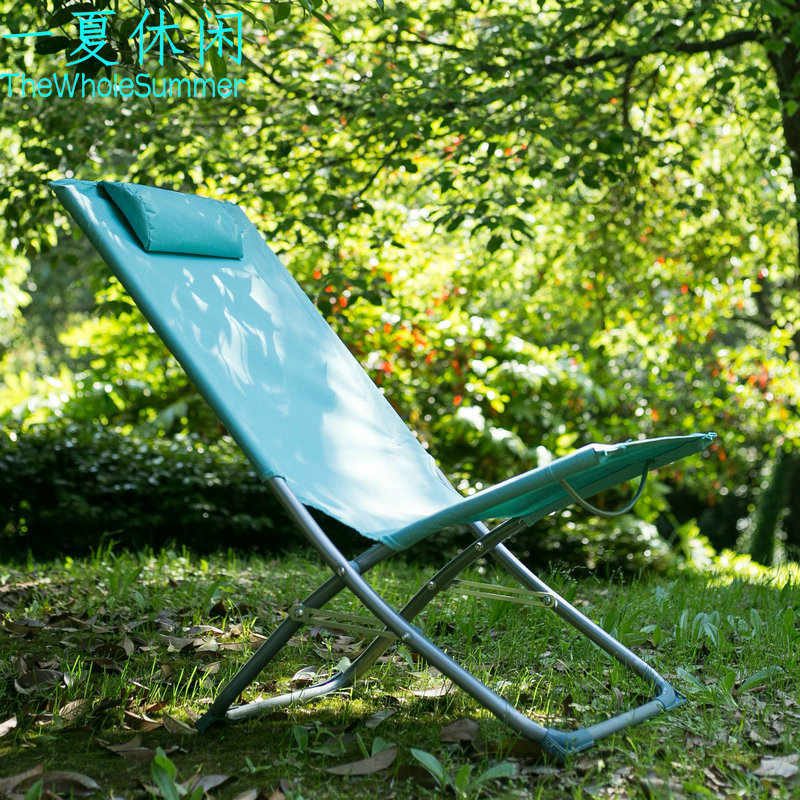 Folding Chair Leisure Summer Home Mini Chair, Single Person Portable Lunch Break Outdoor цена