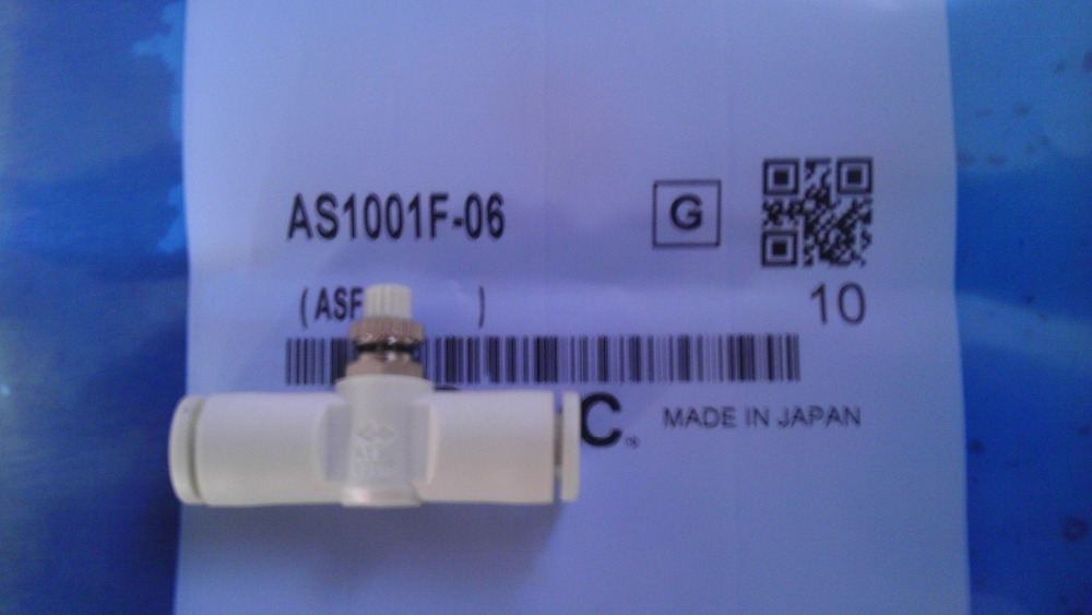 BRAND NEW JAPAN SMC GENUINE SPEED CONTROLLER AS1001F-06 brand new japan smc genuine coupler kk4s 06h