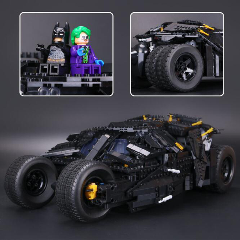 07060 Super Hero Building Blocks Armored Tumbler Batman Movie 1909pcs Bricks Toys Compatible Lepin Christmas Gifts For Children lepin 07060 super series heroes movie the batman armored chariot set diy model batmobile building blocks bricks children toys