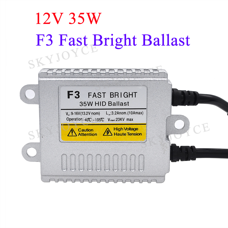 F3 ballast