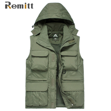 Mann Winter Mit Kapuze XXXL Mantel Thermische Fleece Jacke Männer Warme Windjacke Anorak Mlitary Sleeveless Armee-grün 2 Stück Set 2-in-1