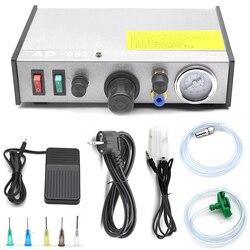 220 В AD-982 полуавтоматический дозатор клея PCB паяльная паста жидкостный контроллер капельница жидкий клей инструменты для сплиттера машина VS ...