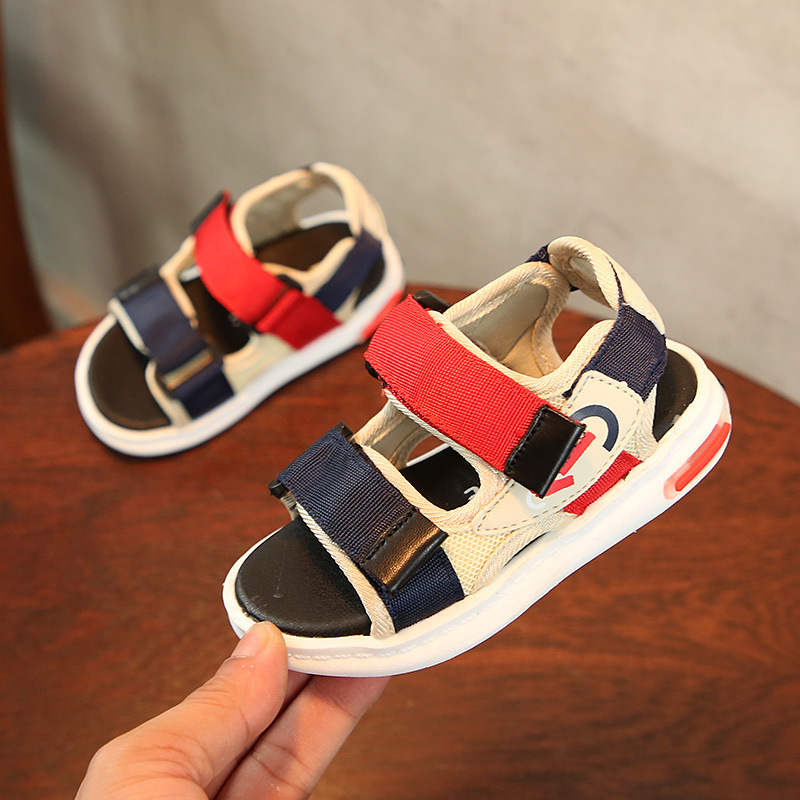 Children Sandals Girls Boys 2018 Summer New Fashion Leisure Magic Subsidies Baby Sandals Beach Shoes Kids Sandals