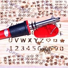 Free shipping 220v 30W Pyrography Tool Wooden Burning Craft Woodburning Pen  tool set