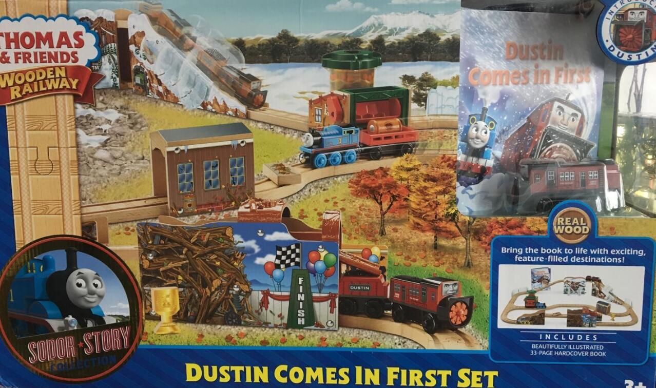 Train Toys Thomas Railway Track TTC88 Dustin Set Thomas And Friends Truck Car Brio Toys for Boys Engine Models Building Toy