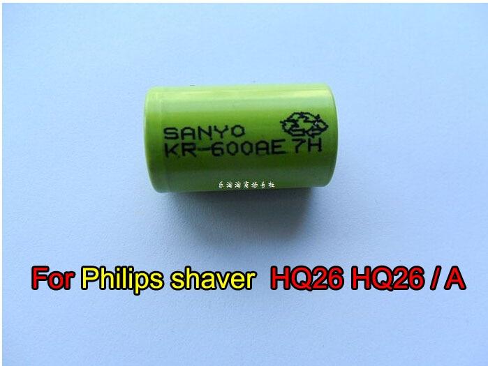 W816 Бесплатная Доставка 1 шт. Ni-NH <font><b>600</b></font> мАч перезаряжаемый аккумулятор для Электробритва Philips hq26 hq26/A