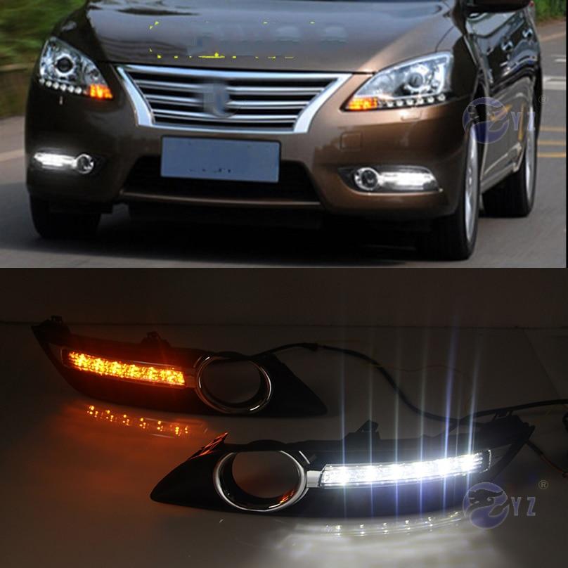 Car Flashing Set For Nissan Sylphy Sentra Led Drl Daytime Running Lights likewise  furthermore P besides Img as well M C Cfbc C E C F Cbd Ef X. on 2014 nissan sentra fog lights