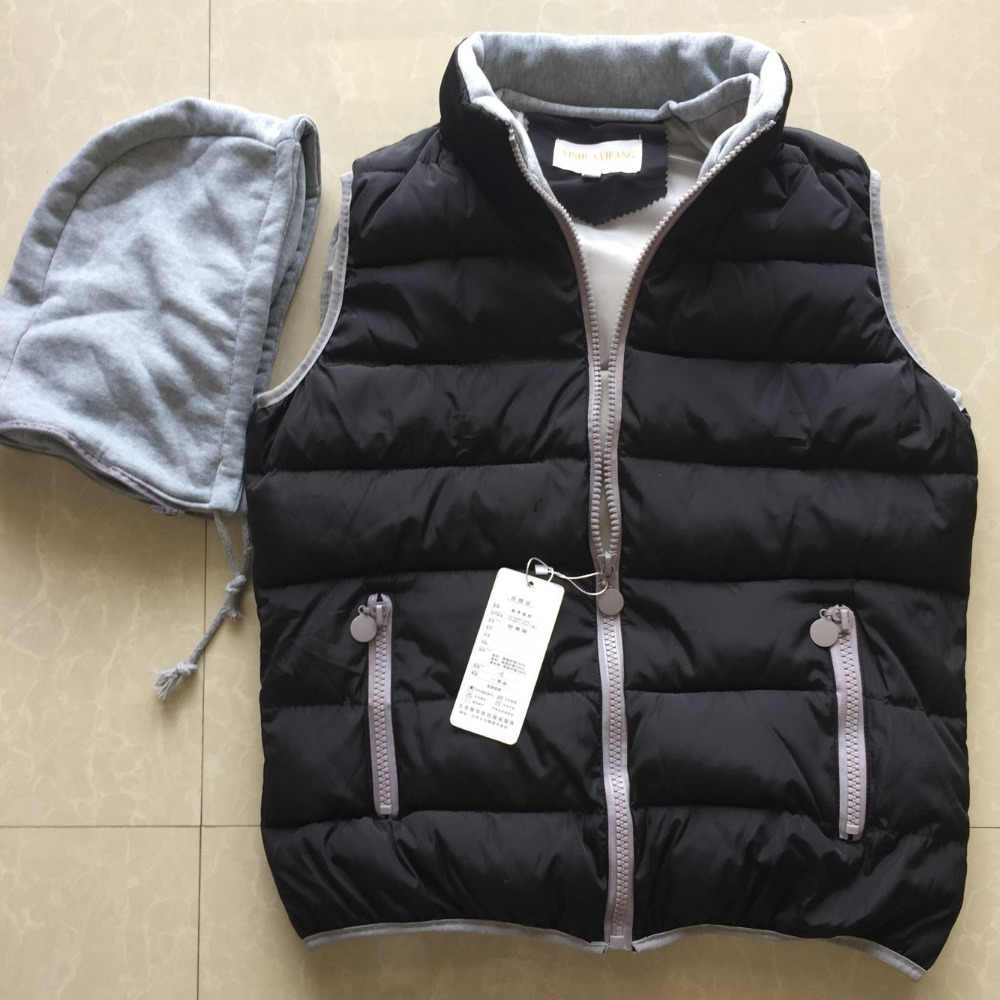 90e76616c6d 2017spring autumn winter design down cotton-padded short jacket vest  women s slim 12 colors M