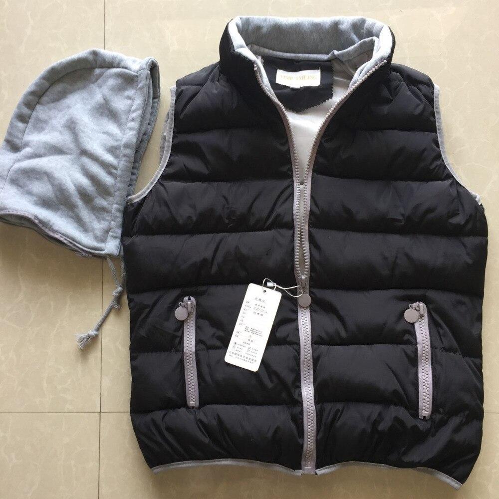 2017 printemps automne conception d'hiver vers le bas coton rembourré veste courte gilet de femmes mince 12 couleurs M-3XL mignon gilet pas cher en gros