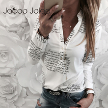Jocoo Jolee Women Fashion V Neck Long Sleeve Sexy Beach Blouse
