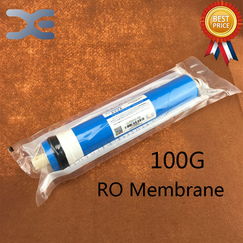 High Quality 100G Reverse Osmosis RO Membrane Water Purifier 100 Gallons Ro Film Filter Water Tank Filter Accessories 1 4   chrome drinking ro water filter