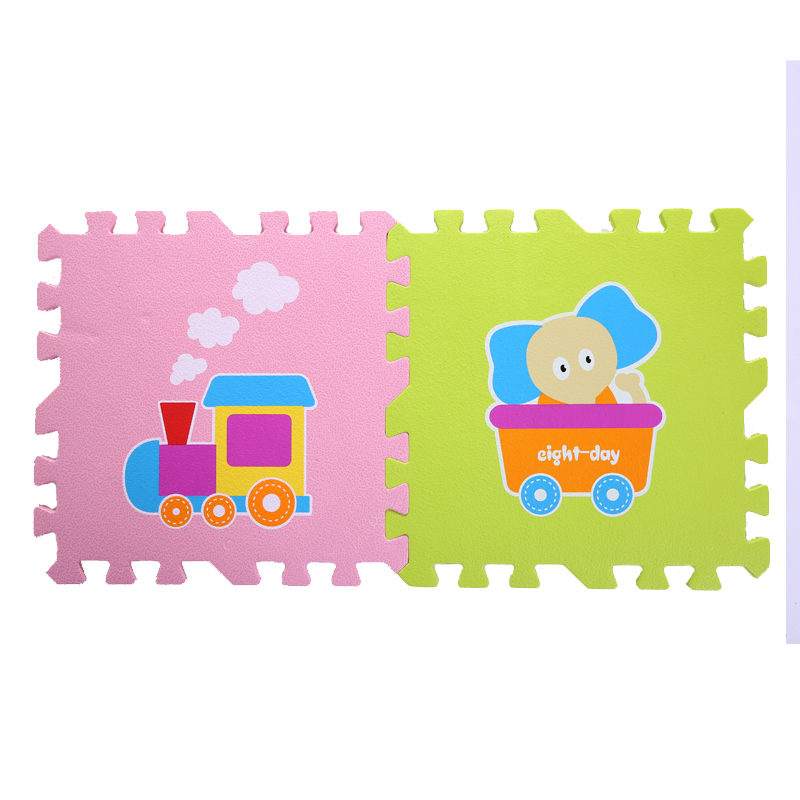 Մանկական գնացք և կենդանիների ոճի - Խաղալիքներ նորածինների համար - Լուսանկար 3
