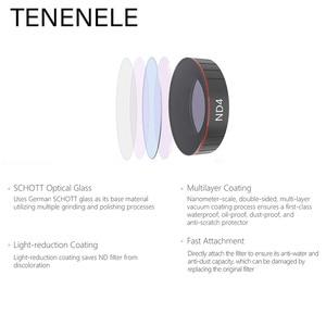 Image 3 - TENENELE Voor OSMO ACTIE Camera Filter UV CPL ND1000 ND4/8/16/32 PL Filters Set Voor DJI osmo Action Optische Glazen Lens Accessoire