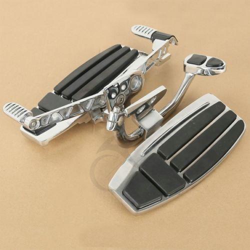 Motorcycle Driver Foot Board Floorboard Kit For Honda Goldwing GL1800 & F6B Models 01-17 11 sc0108t2a0 17 driver board