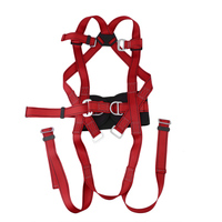 There Point Formula Rock Climbing Mountaineering Belt Rock Climbing Downhill Harness Rappel Rescue Safety Belt Body Safety Belt