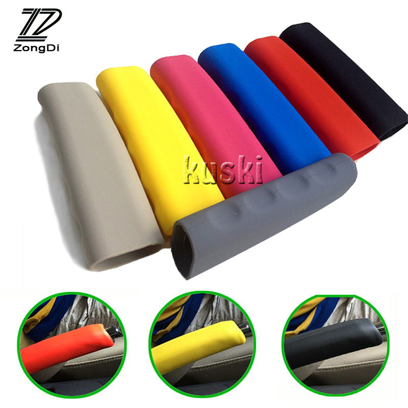 ZD Car Styling Non-slip Bandbrake Cover For VW Passat B5 B6 Polo Golf 4 5 Chevrolet Cruze Lada Granta RAM Accessories Silicone