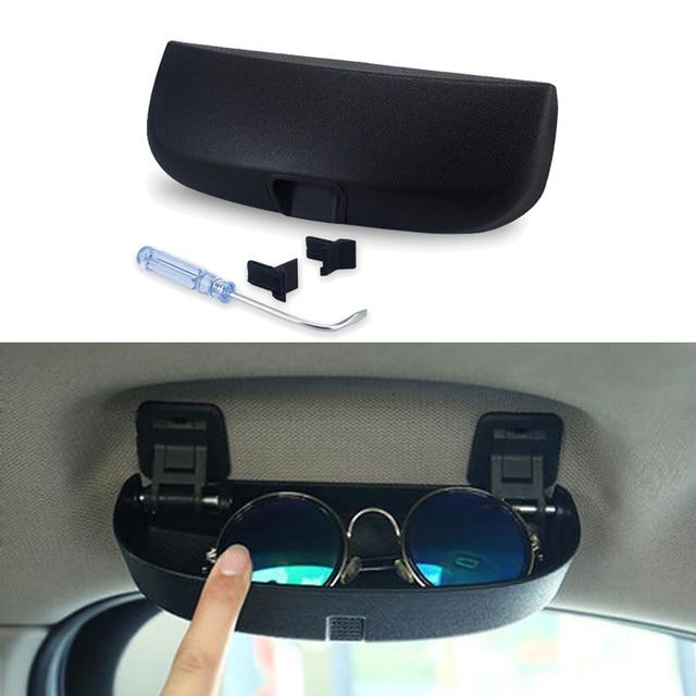 343d96ebd525 Sunglasses Holder for Mercedes Benz W203 W204 W205 W210 W124 W212 W211 C E  Class Accessories Car Sun Glasses Case