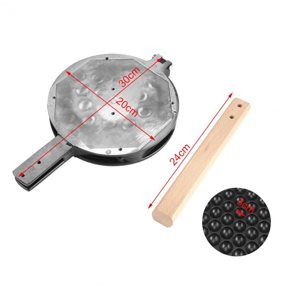 Коммерческих яйца пузырь противень гладить Гонконг вафельный плесень Eggettes mold roller антипригарным пластины для газовых электрическая машина