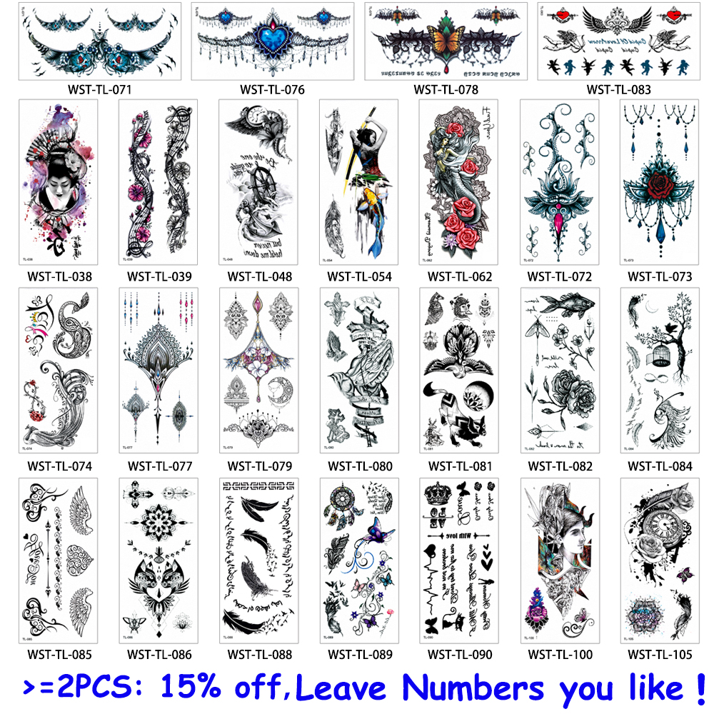 25 Designs Women Jewelry Tattoo 1