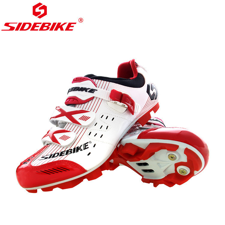 SIDEBIKE Cycling Shoes Mountain Bike Shoes Sapatilha Ciclismo MTB Athletic Breathable Racing Sneaker Men