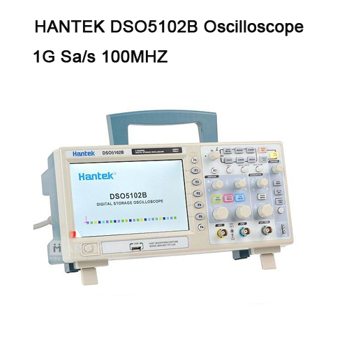 Fast arrival Hantek DSO5102B Digital storage oscilloscope usb 100MHz 1GSa/s 25GSa/s 2 Channel