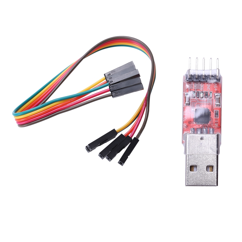 FT232 Module CP2102 Module USB To TTL USB 2.0 Serial Module UART STC Downloader With 5 Pin Dupont Cable