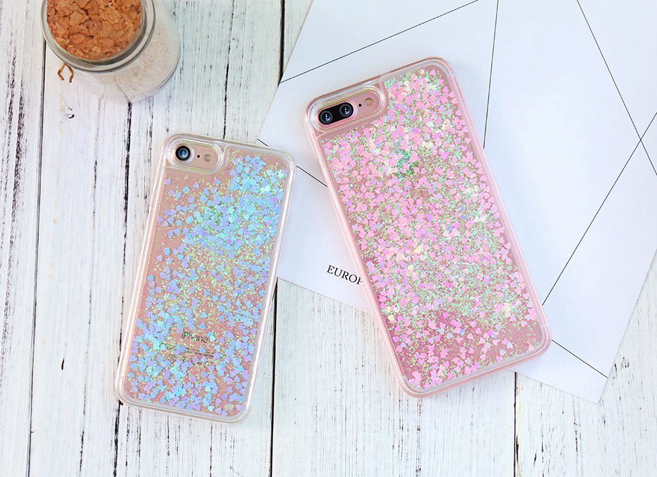 Glitter Quicksand For iPhone 6 6S 7 Plus 5 5S SE 4S Case For Samsung S6 S7 Edge Plus S5 S4 A5 A7 2016 G530 Note 4 5  (1)