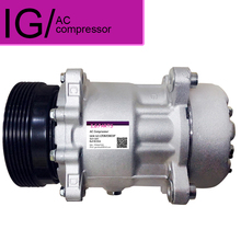 New SD7V16 7V16 AC COMPRESSOR  For Car AUDI A3 TT SKODA Octavia VW Golf Polo Bora Caddy Beetle Seat 1J0820803F
