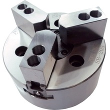 MOSASK SB-206 6 inch 3-claw CNC lathe boring tool holder hole processing hollow hydraulic power chuck