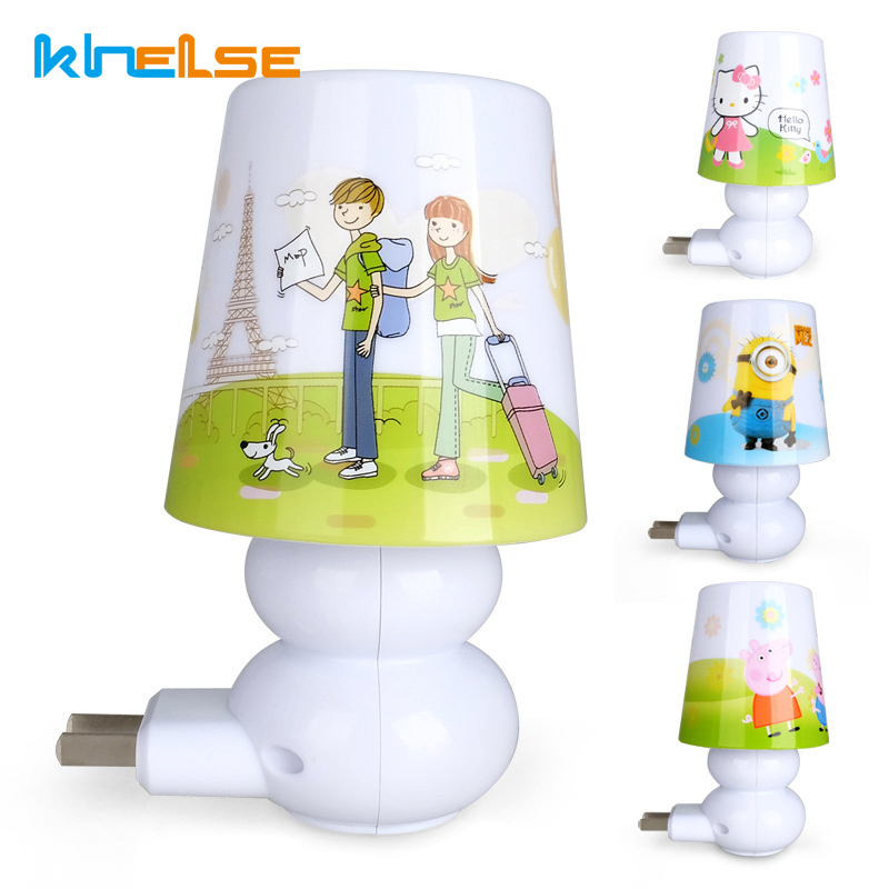 AC220V 0.6W LED Remote control Led Night Light Lamp White/Warm White Baby Bedroom Romantic Birthday Gift Bedside Night Light