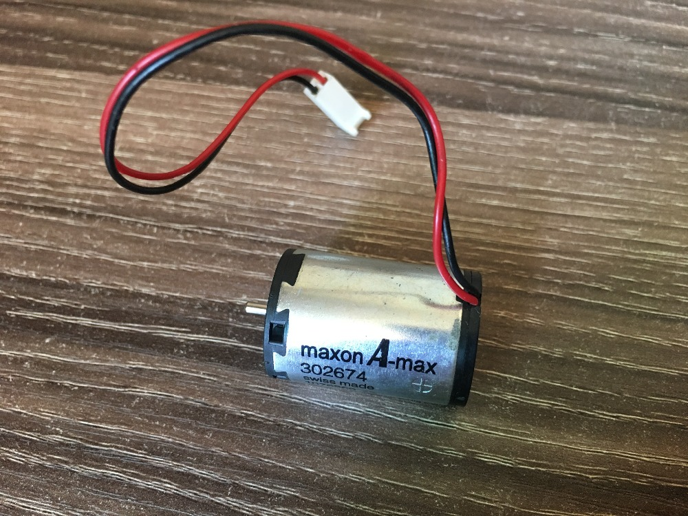 DC motor speed 302674 22 mm Used imported Swiss maxon A-max Coreless dc motor speed 302674 22 mm used imported swiss maxon a max coreless