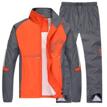 Men Sport Suits Sportswear Set New Style Polyester Fabric Fitness Training Tracksuit Zip Pocket Running Sets Mens Jogging Suit sport suit women fitness clothing running sets polyester breathable ladys sportswear zip pocket training jogging sportsuit