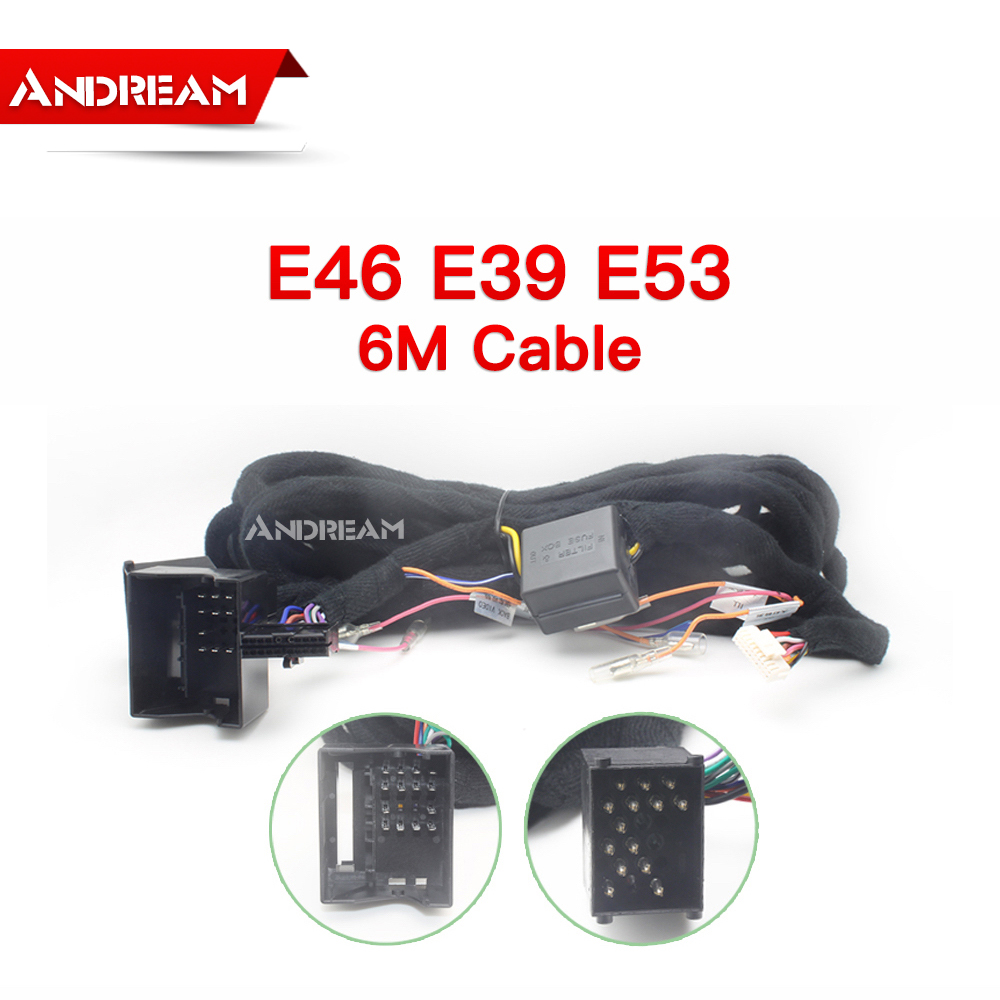 Extended Installation Wiring power wire For BMW E39 E46 E53 6M Cable