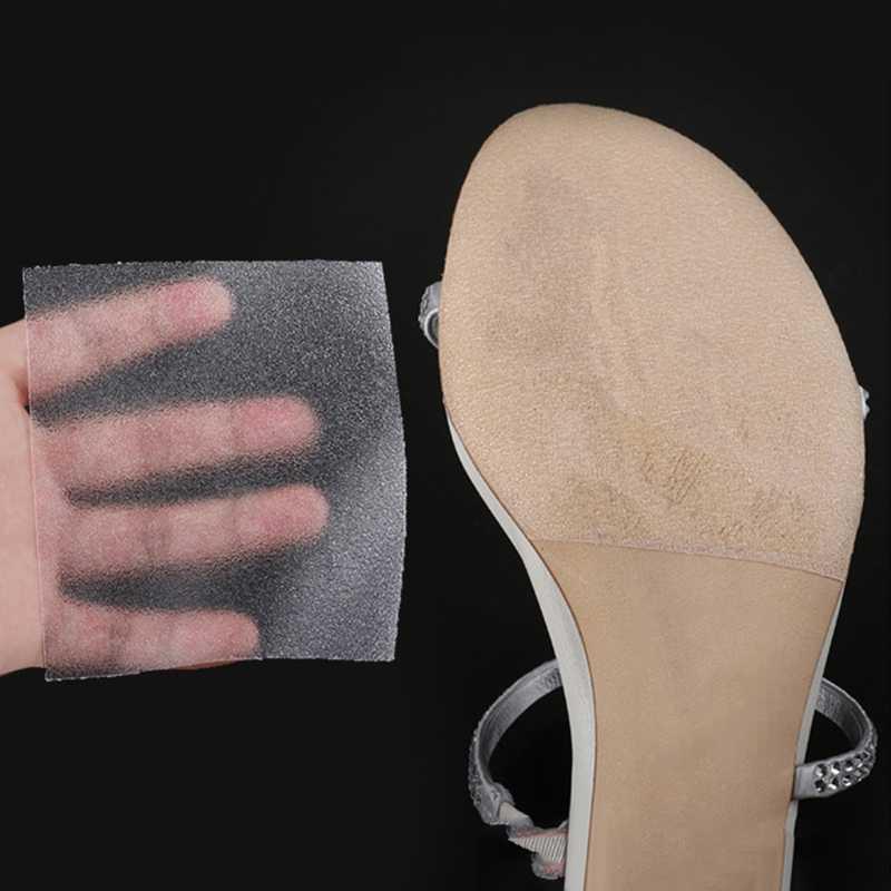 חדש בלעדי קלטת עצמי דבק אנטי להחליק מדבקה שקוף גבוהה עקבים נעל מגן אביזרי נעליים