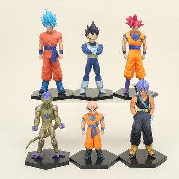 Figura de acción de Dragon Ball Z, bañadores freezer de 11-16cm, Son Goku freezer dorado, Tien Shinhan, Juguetes