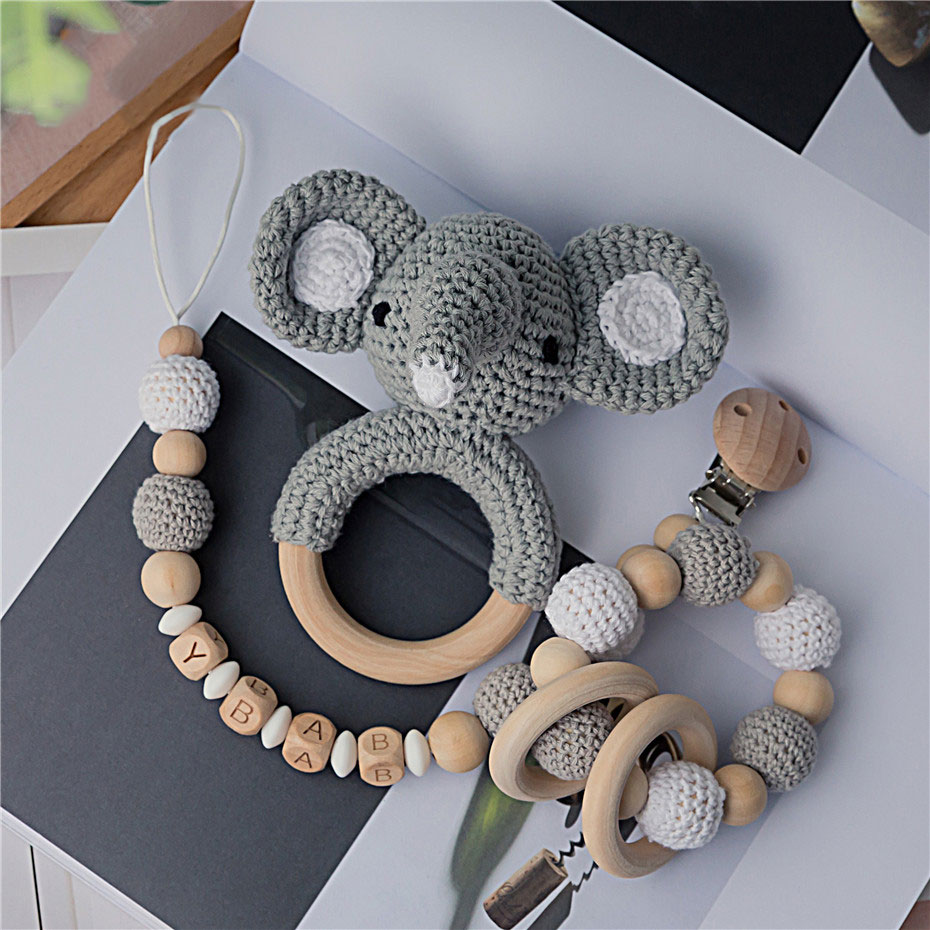 Amigurumi elephant teething ring | lilleliis | 930x930