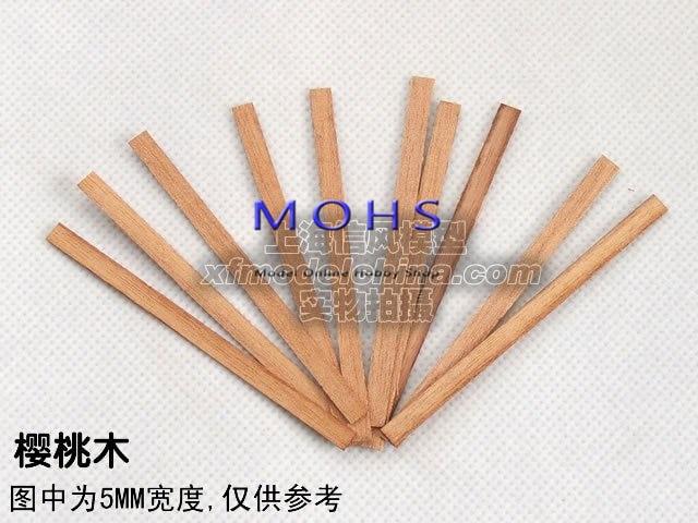 80 unids/lote 100 unids/lote, tablones de cubierta de madera, listones de madera de roble teca, listones de madera de cerezo, báscula de madera para velero, listones de cubierta