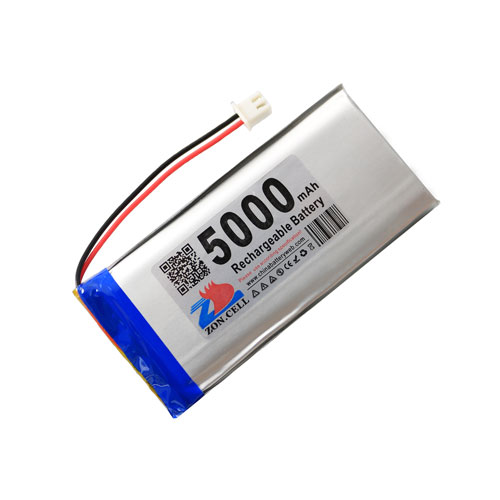 shenzhen technology <font><b>5000mah</b></font> <font><b>3.7v</b></font> lithium polymer <font><b>battery</b></font> li po ion <font><b>lipo</b></font> rechargeable <font><b>batteries</b></font> for tablet PC/GPS/POWER BANK/DIY image