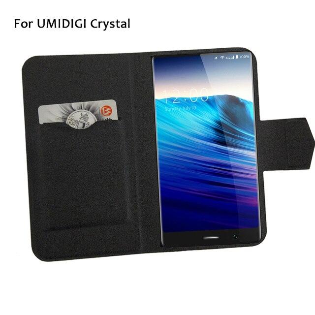 5 Couleurs Chaude! UMIDIGI Crystal Case Téléphone En Cuir de ...