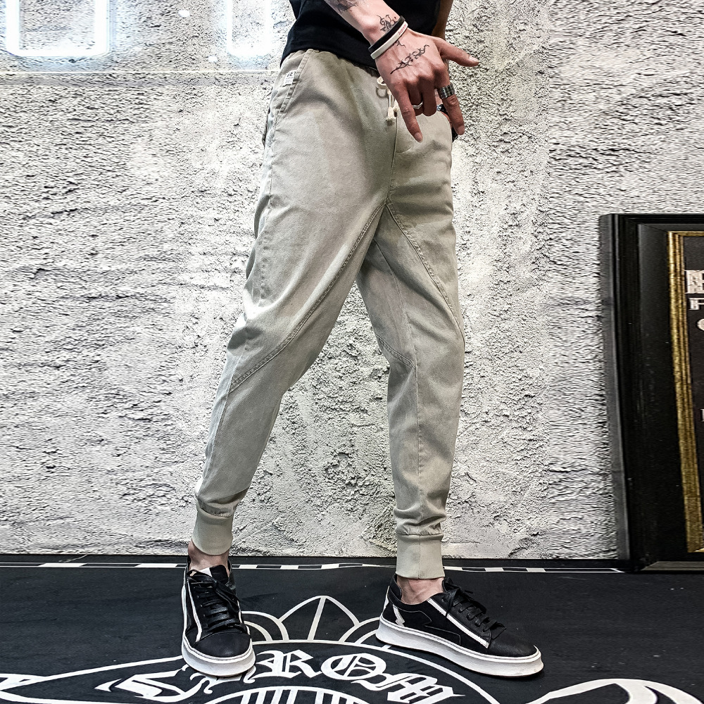 100% QualitäT Hohe Qualität Sommer Hosen Männer Mode 2019 Lose Jogger Drop Gabelung Herren Harem Hosen Street Hip Hop Elastische Hosen Männer 36 100% Garantie