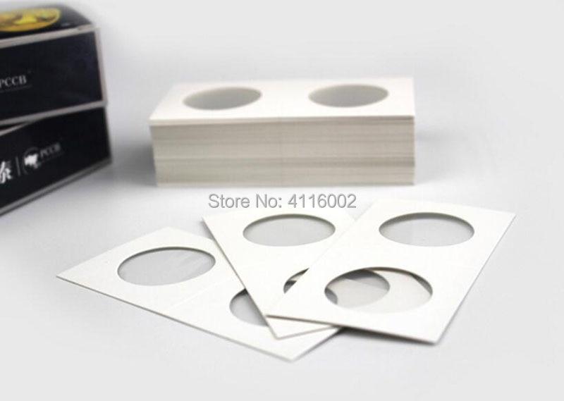 2x2 Mylar Cardboard Coin  for Storage Holder 20.5mm 50 Per Order