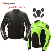 SUMMER Riding Tribe JK 21 Motorcycle Jacket Ventilate Mesh Fabric