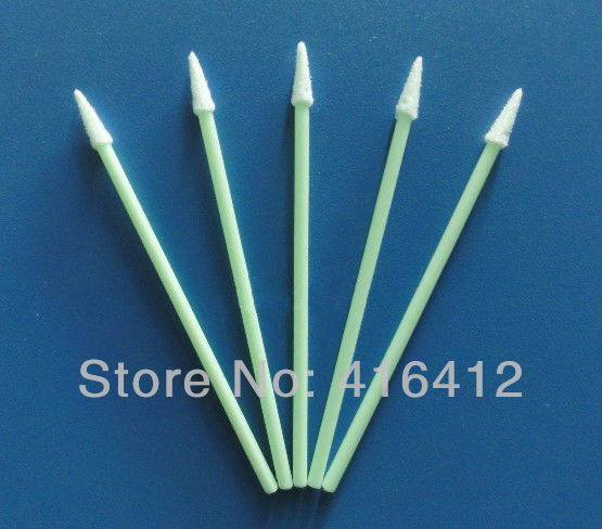 3000 pcs pointed tip foam head cleaning swabs sticks