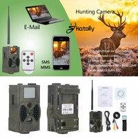 Hc300m skatolly الصيد تريل كاميرا hc300m كاملة hd 12mp 1080 وعاء فيديو للرؤية الليلية mms الكشافة الأشعة gprs multifunction أدوات